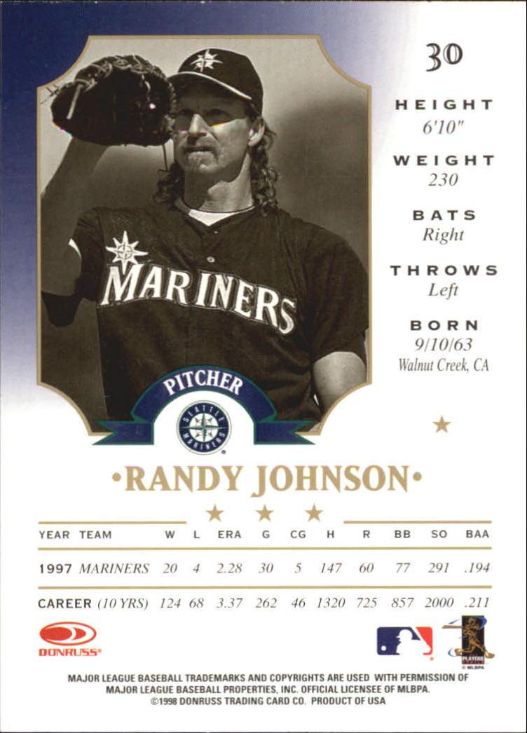 Pick Card From List 1998 Leaf Baseball