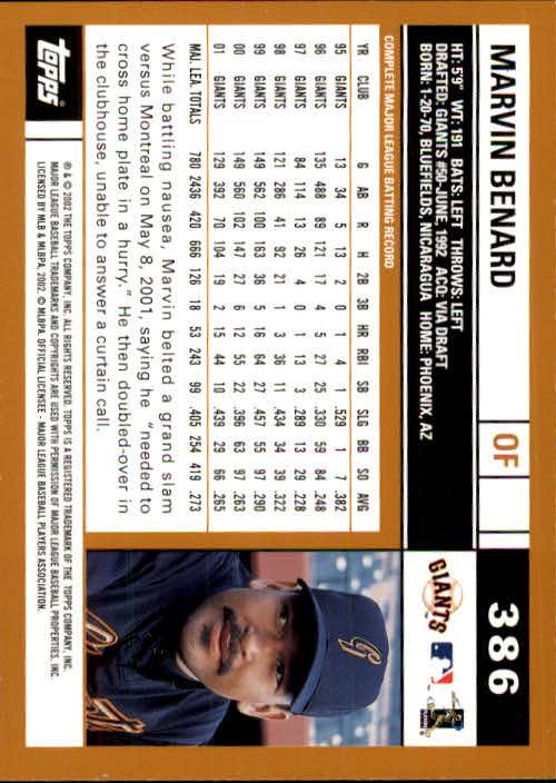 2002 Topps Baseball C121 Pick Card From List 255-513