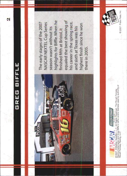 2007 VIP Racing Card Pick
