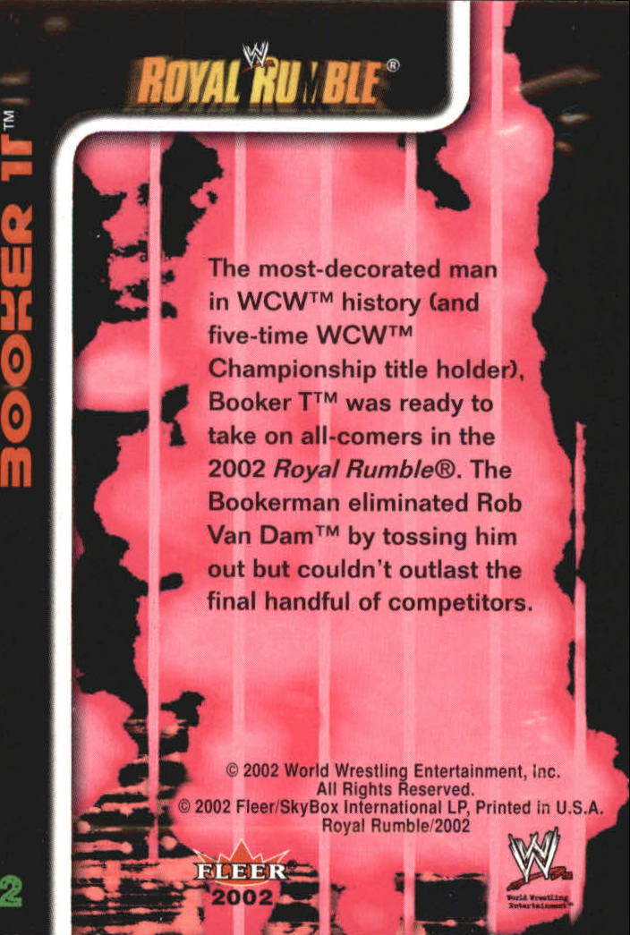 2002 Fleer WWE Royal Rumble #s 1-80 10 You Pick Inserts A3303 FREE SHIP