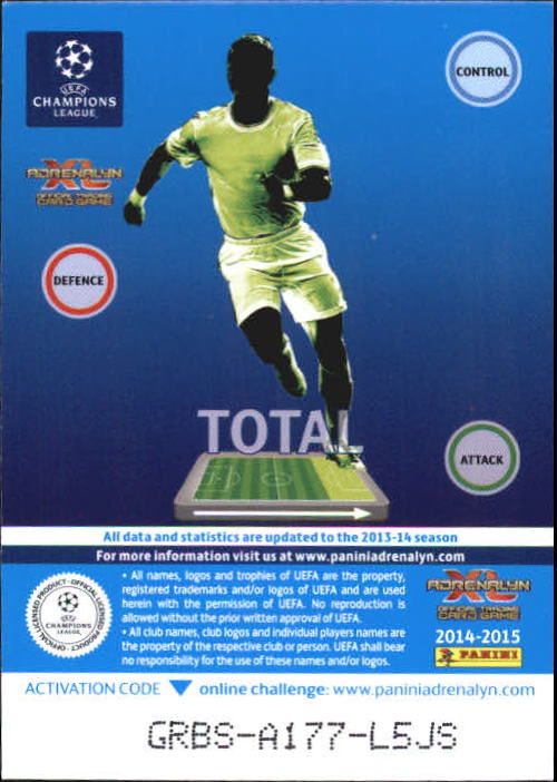 10+ Envío Gratuito - Usted Elige 2014-15 Adrenalyn XL UEFA Champions 1-200 A6061