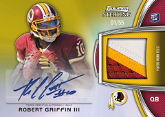 12BSFB_9003_RG3_auto relic gold parallel