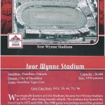 Ivor Wynne Stadium (Front & Back)