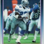 Emmitt Smith's 1990 Score Supplemental card inspired the star to study hobby trends.