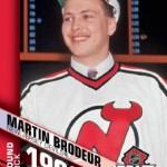 UD NHL Draft Brodeur