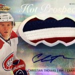 2013-14-NHL-Fleer-Showcase-Hot-Prospects-Jumbo-White-Hot-Patch-Christian-Thomas