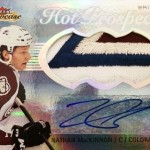 2013-14-NHL-Fleer-Showcase-Hot-Prospects-Jumbo-White-Hot-Patch-Nathan-MacKinnon