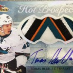 2013-14-NHL-Fleer-Showcase-Hot-Prospects-Jumbo-White-Hot-Patch-Tomas-Hertl