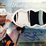 2013-14-NHL-Fleer-Showcase-Jumbo-Autograph-Patch-Hot-Prospects-Seth-Jones