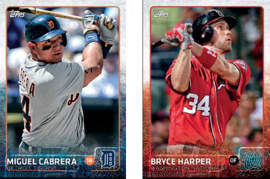 2015Topps base cards