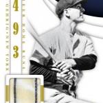Panini America 2014 Immaculate Baseball Gehrig