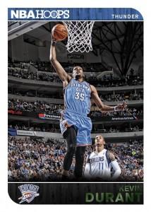 Panini America 2014-15 NBA Hoops Basketball Durant