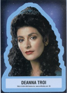 Counselor Troi Sticker