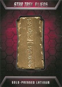 Gold Press Latinum Badge