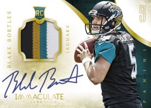 panini-ameica-2014-immaculate-football-blake-bortles