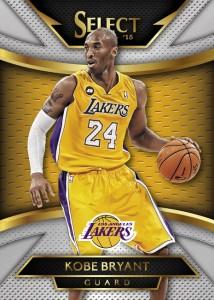 Panini America 2014-15 Select Basketball Kobe Bryant