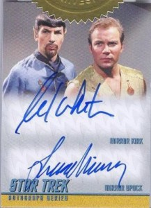 2014 Star Trek Portfolio Prints Incentive Mirror Mirror with William Shatner