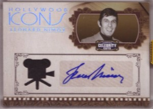 Celebrity Cuts Nimoy Swatch Auto