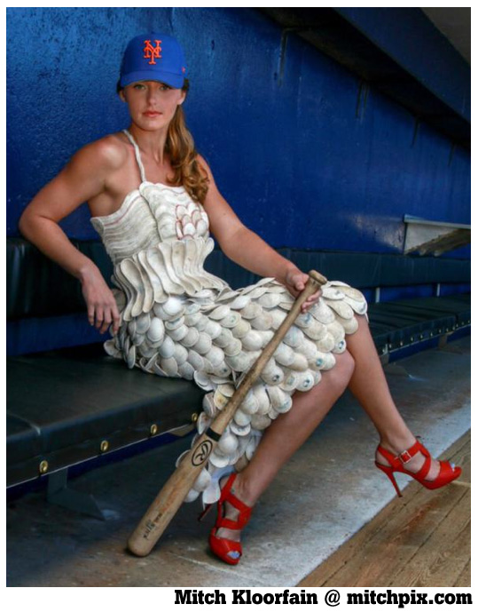 Game-used dress