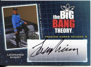Nimoy Big Bang Theory Auto