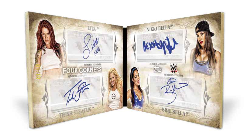 2015 Topps WWE Undisputed Divas Book