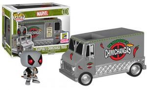Pop! Rides X-Force Deadpool's Chimichanga Truck Gray Variant