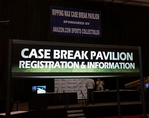 Case Break sign