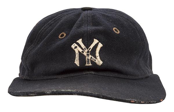 1932 Babe Ruth Game-Worn Cap