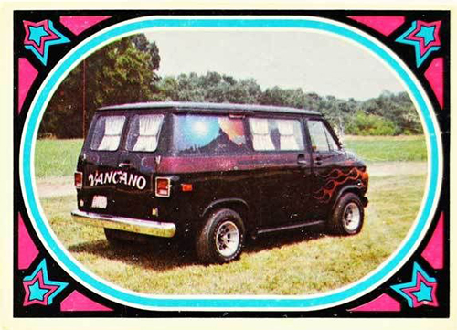 1975 Donruss Truckin A