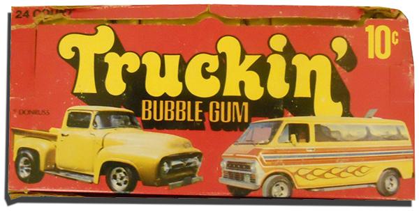 1975 Donruss Truckin Box 600