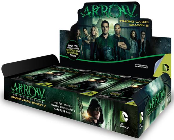 2015 Cryptozoic Arrow Season 2 Box