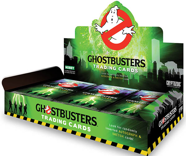 2015 Cryptozoic Ghostbusters Box
