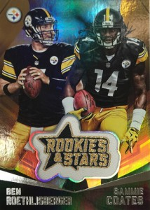 2015 Panini Rookies and Stars Embroidered Patch Card