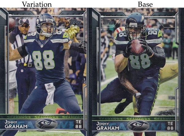 2015 T FB Var 110 Jimmy Graham