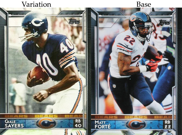 2015 T FB Var 15 Gale Sayers