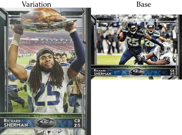 2015 T FB Var 209 Richard Sherman