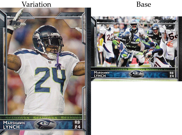 2015 T FB Var 220 Marshawn Lynch