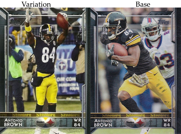 2015 T FB Var 240 Antonio Brown