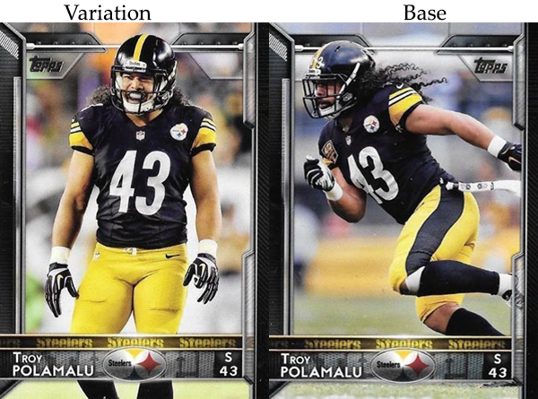 2015 T FB Var 44 Troy Polamalu
