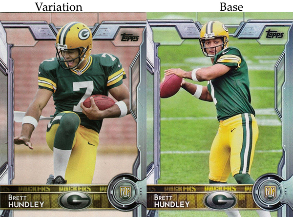 2015 T FB Var 447 Brett Hundley