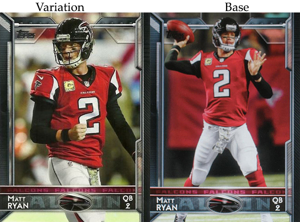 2015 T FB Var 50 Matt Ryan