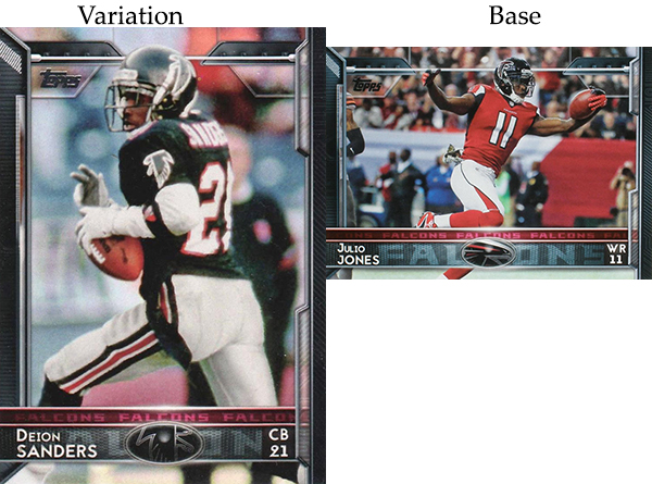 2015 T FB Var 55 Deion Sanders