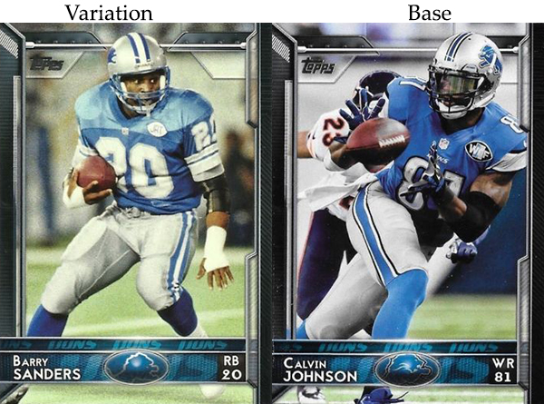 2015 T FB Var 70 Barry Sanders