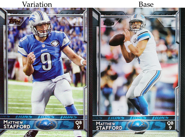 2015 T FB Var 90 Matthew Stafford