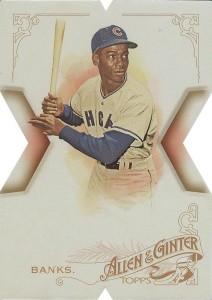 2015 Topps Allen and Ginter Baseball National Die-Cut Ernie Banks