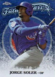 2015 Topps Chrome Baseball Future Stars Jorge Soler