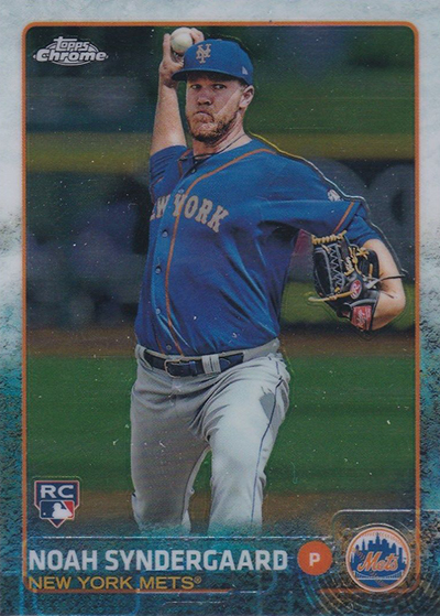 2015 Topps Chrome Noah Syndergaard RC
