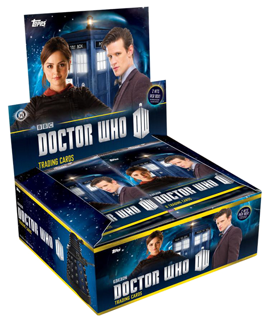 2015 Topps Doctor Who Box