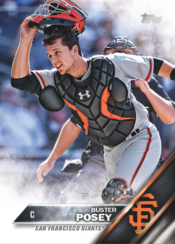 2016 Topps Series 1 Baseball Base Buster Posey