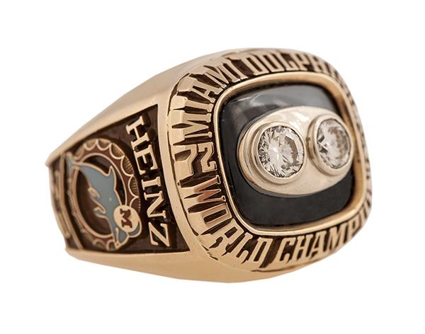 Bob Heinz 1973 Miami Dolphins Super Bowl VIII Ring